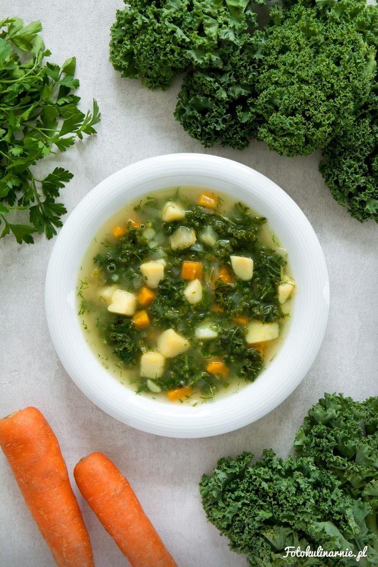 Vegetable Kale and Potato Soup.