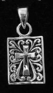 Silver Cross Pendant This type of jewelry is the perfect Christmas gift, Birthday gift or a great gift for any other gift giving holiday. Find it at http://www.handcraftedcollectibles.com/
