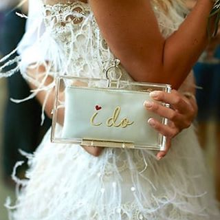 "97 Likes, 3 Comments - Getting Married In Greece (@gettingmarriedingreece) on Instagram: ""•DETAILS• The iconic #pandora clutch box by @charlotte_olympia is one of the most stylish ways to…"""