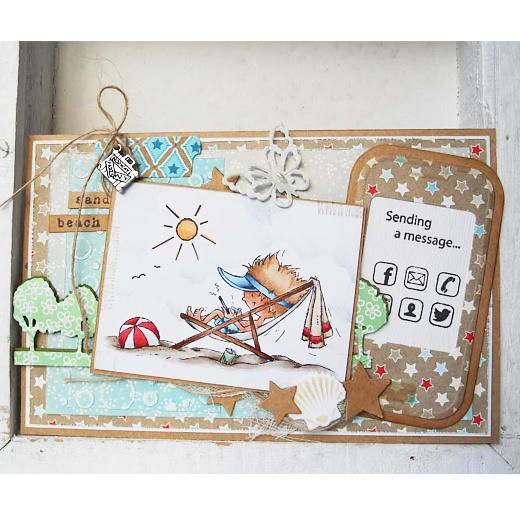 Marianne Design Clear Stamps - Holiday App DDS3352 | Buddly Crafts