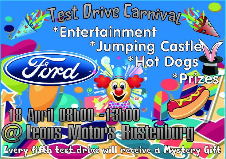 Ford test drive fun times leons motors
