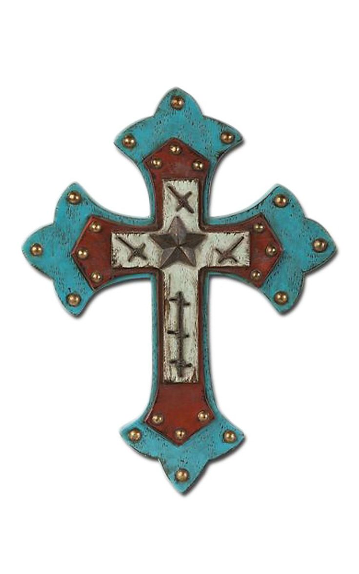 10 best images about western crosses on pinterest home accents wall crosses and turquoise Home decor wall crosses
