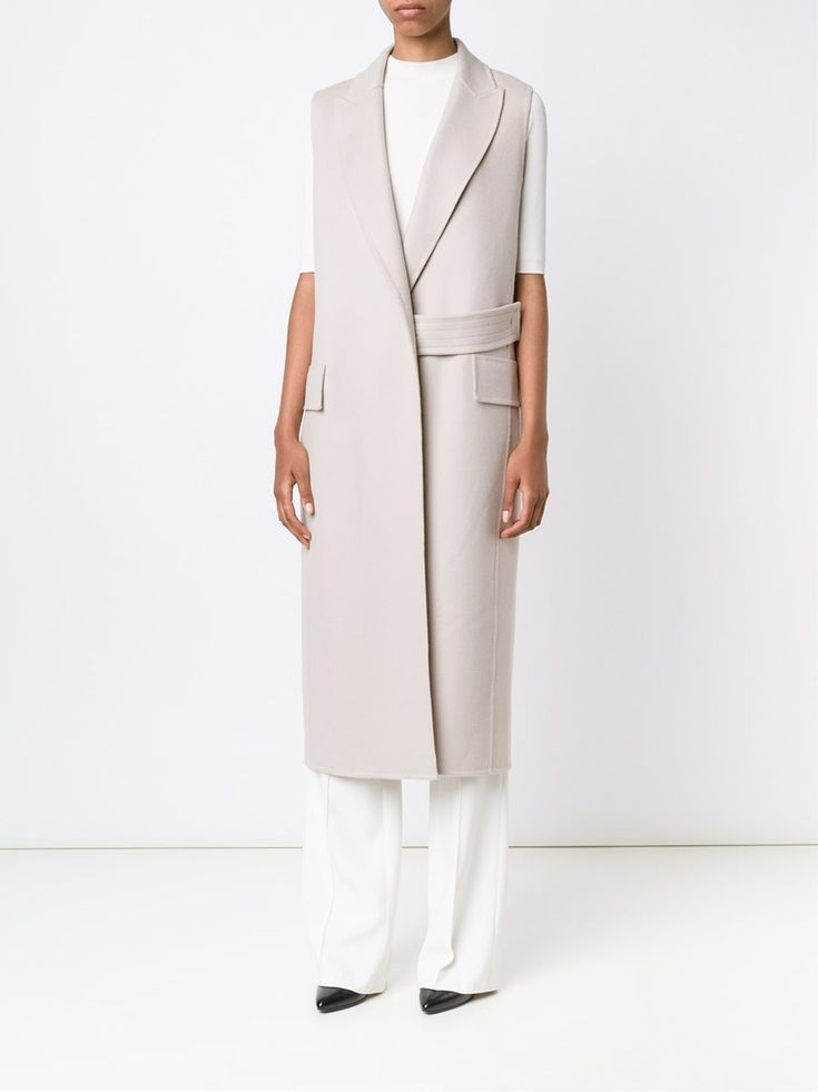 Victor Alfaro sleeveless coat