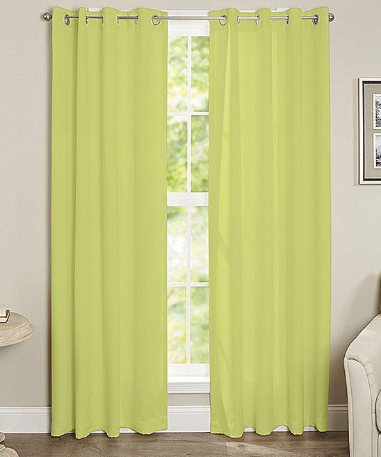 Best 25 Lime Green Curtains Ideas On Pinterest