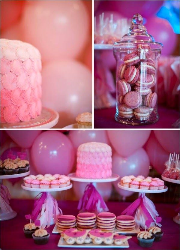 Pink Baby Shower Theme | Read More: Http://whatwomenloves.blogspot.
