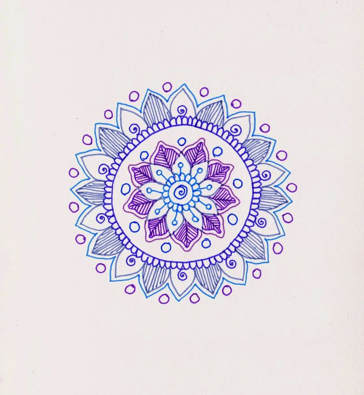Simple Mehndi Mandala : Best images about doodles tangles patterns on