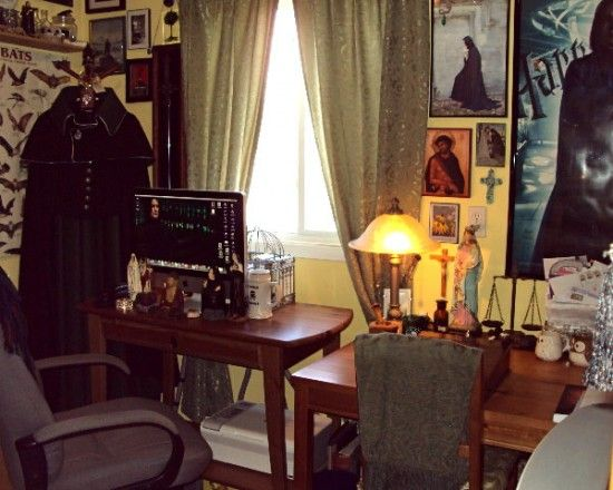 My Severus Snape-inspired office