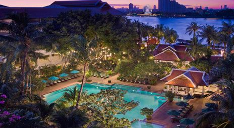 Anantara Riverside – Great Bangkok hotel for families. Right on the river with great views and a huge pool.