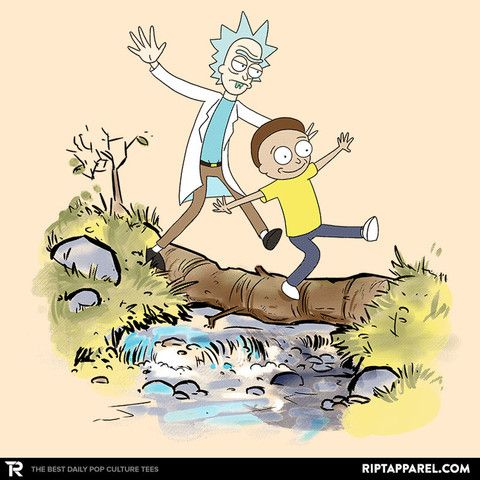 Playtime T-Shirt - Rick and Morty T-Shirt is $11 today at Ript!