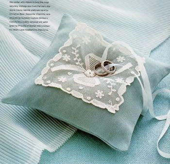 lovely ring pillow