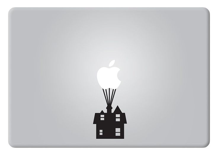 Up House Disney Apple Macbook Decal Vinyl Sticker Apple Mac Air Pro Retina Laptop sticker