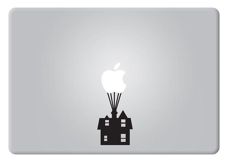 Up House Disney Apple Macbook Decal Vinyl Sticker Apple Mac Air Pro Retina Laptop sticker