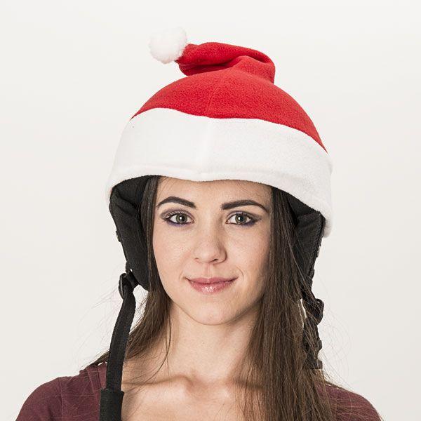 Santa helmet cover (universal size) - Evercover Ltd. (funny helmet covers webshop)