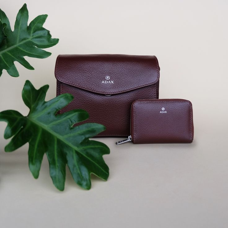 The popular Thea crossover bag and Cornelia wallet in sophisticated brown. Click on pic for more!