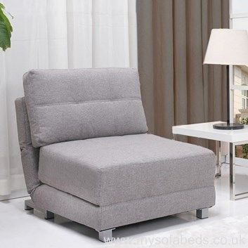 Nancy Chair Bed Single Seat Fabric