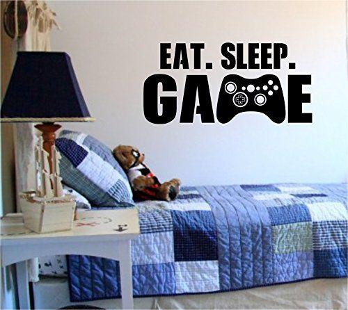 Eat Sleep Game Version 101 Gamer Video Game Decal Sticker