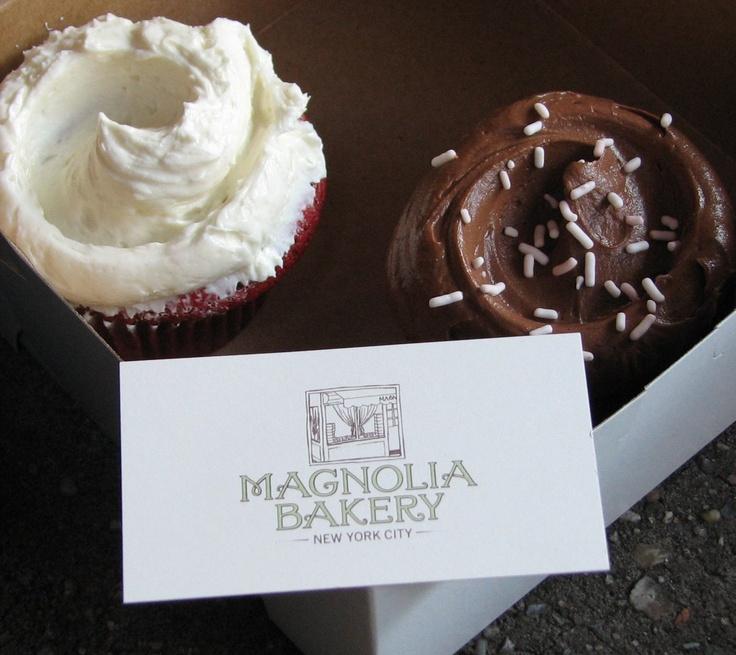 Magnolia Bakery NYC, cupcakes.