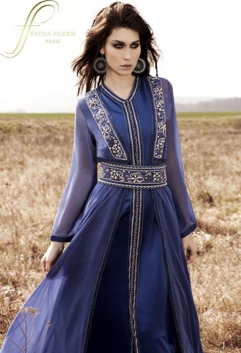 2014 - Fatna Farkh   Caftan haute couture