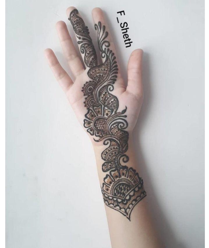 arabic mehndi design on pinterest