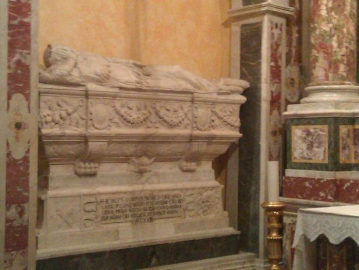 Sarcofago Regina Adelasia - Cattedrale di Patti ( Sicilia)