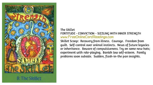 Free Online Tarot Card Readings-The Kitchen Tarot By Psychic Medium Dennis Fairchild and Susan Shie