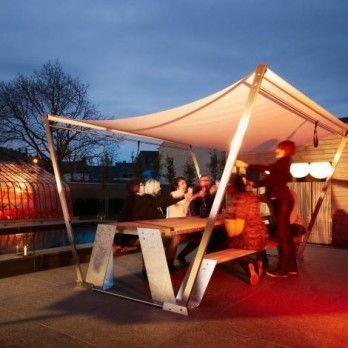 Table d'extérieur HOPPER de la marque EXTREMIS - superstore.fr -