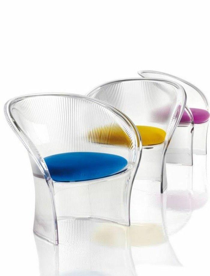 chaise transparente chaise plexi