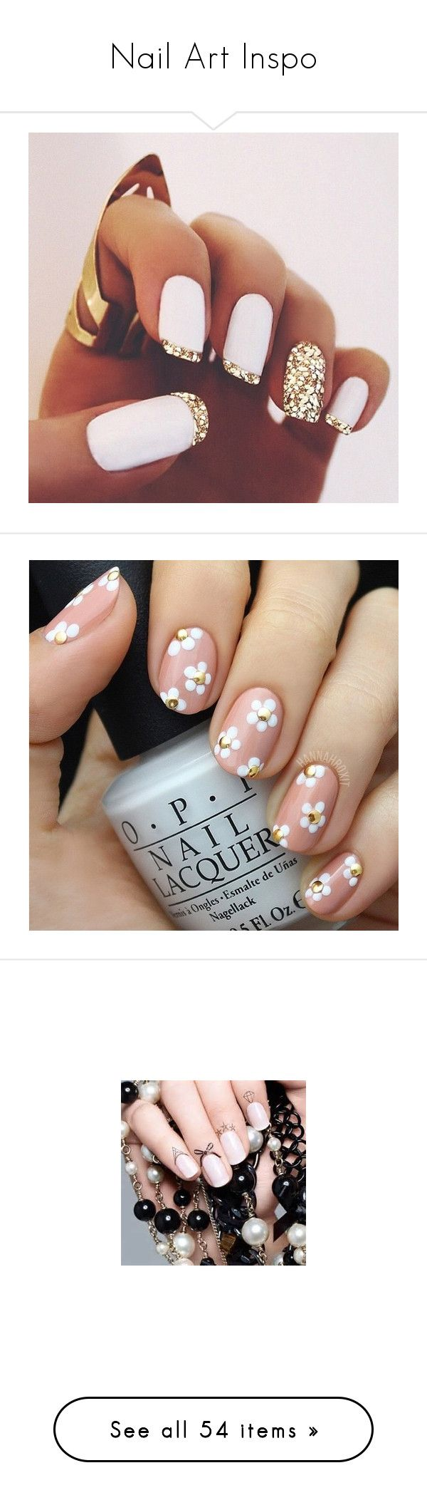 """""""Nail Art Inspo"""" by daizydarling ❤ liked on Polyvore featuring nails, makeup, beauty, nail art, unhas, nail polish, lullabies, kylie jenner, accessories and pics"""