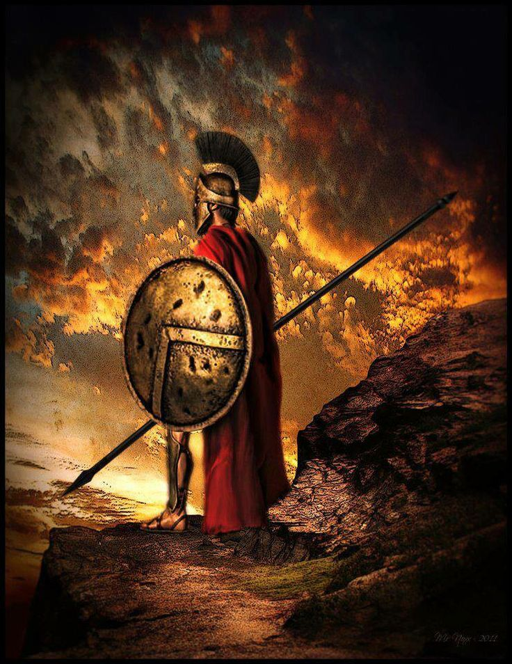 the spartan warriors Military activity was forbidden by spartan law the spartans had arrived too late at the battle of marathon because of this requirement it was also the time of.