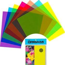 Transparent Plastic Origami Sheets 15 cm $4.85   http://www.theorigamipapershop.com/p-1017-transparent-plastic-origami-sheets-6.aspx?gclid=CNLitYrIz74CFdF9OgodeQQAOg