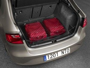 You can fit a lot into the boot in the Seat Toledo