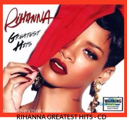 RIHANNA GREATEST HITS - CD for more details visit http://coolsocialads.com/-----------rihanna-greatest-hits---cd-85329