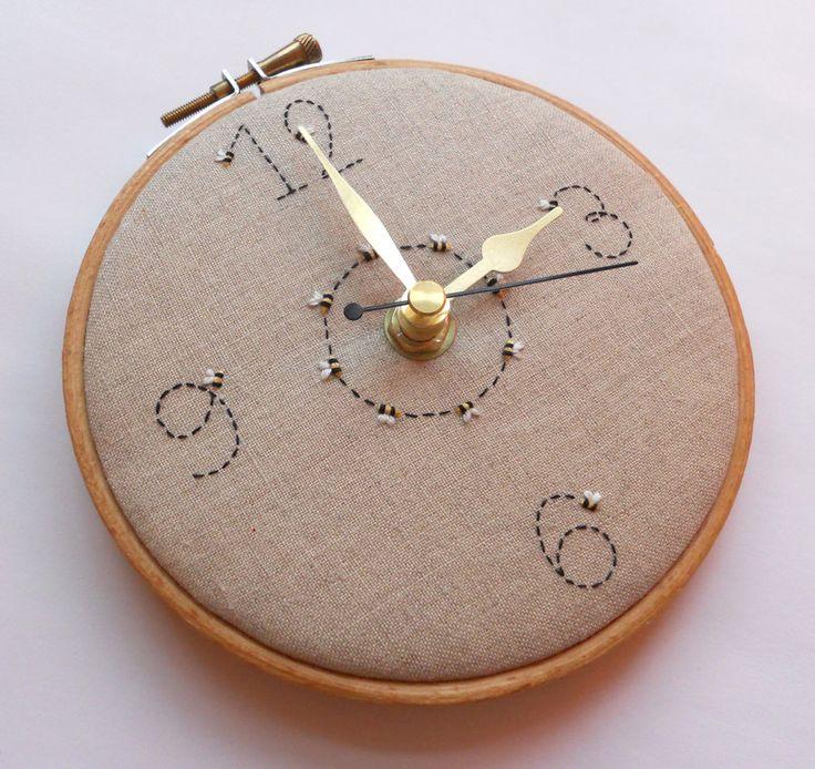 Ring of Bees Wall Clock by MasonBee.deviantart.com on @DeviantArt