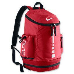 Nike Hoops Elite Team Backpack | FinishLine.com | University Red