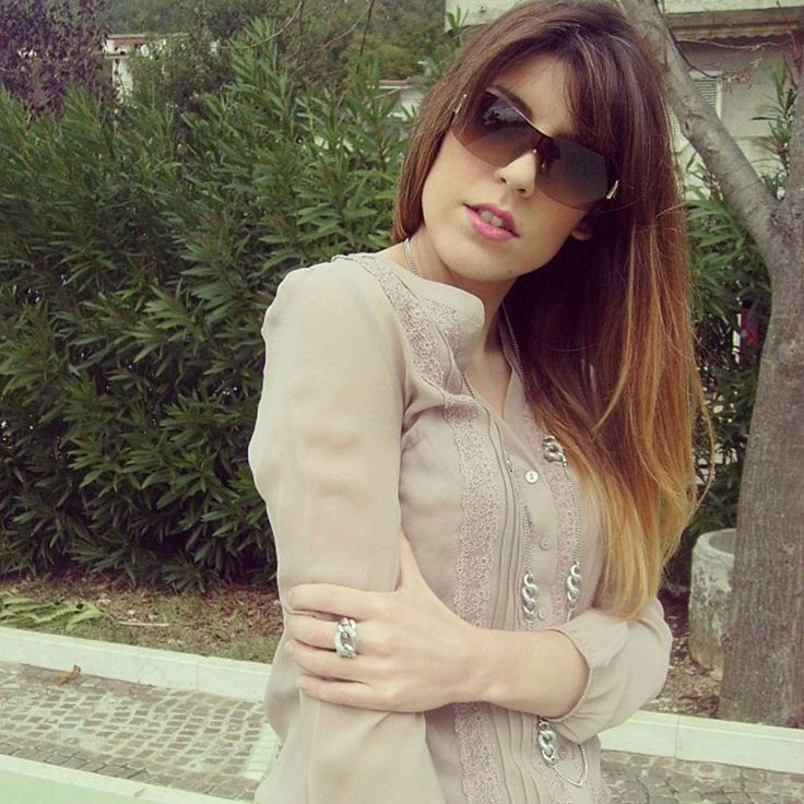 #necklace and #ring by Zoppini worn by the #Italian #fashionblogger @Juliemery Bibbò