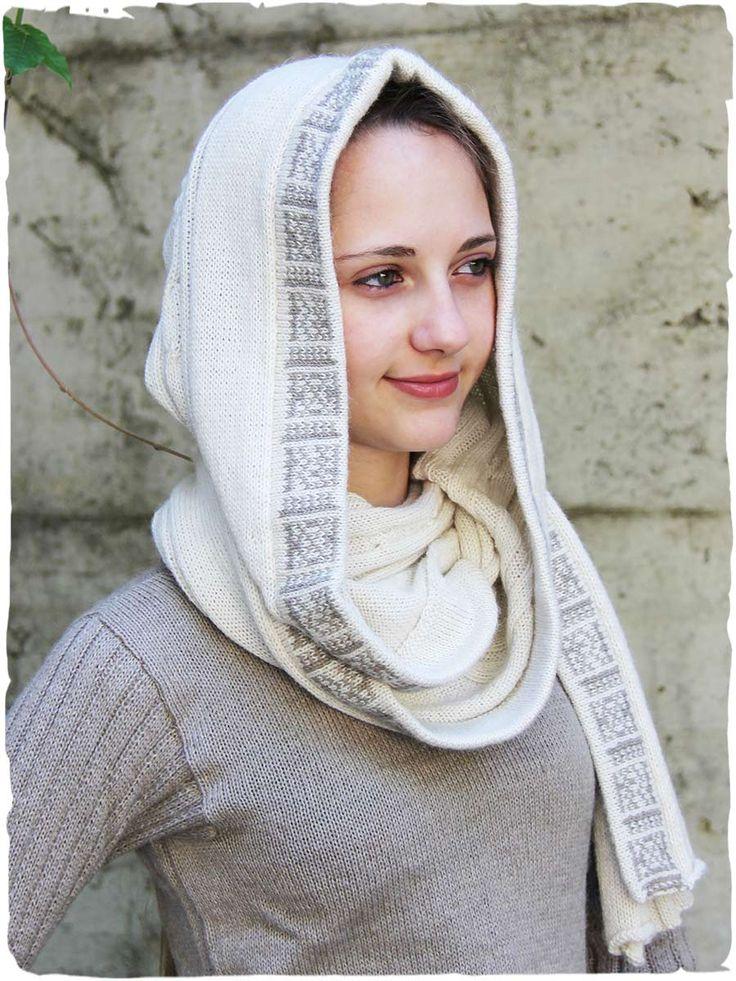 """Sciarpa cappello 100% in lan d'alpaca Novità 2017!!!#splendida #sciarpa #cappuccio #cappello #donna con lavorazione a #treccia e disegni #etnici. Cliccando su """"scegli la taglia"""" troverai l'opzione per acquistare questa #sciarpa col suo gancio scolpito in osso naturale - www.lamamita.it/store/abbigliamento-invernale/1/sciarpe-in-lana/sciarpa-cappello#sthash.RkXK1ofK.dpuf"""