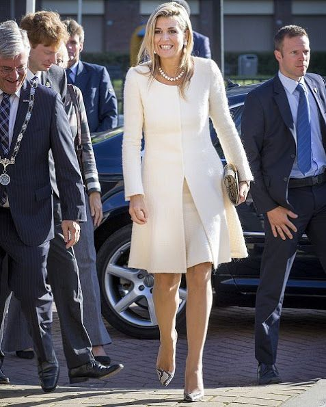 Queen Maxima visits the 10th anniversary of foundation Piezo