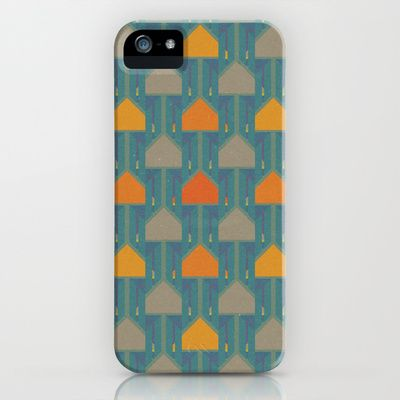 Camping iPhone & iPod Case by Mimi - $35.00