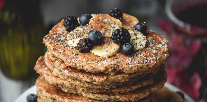 pancakes de chia