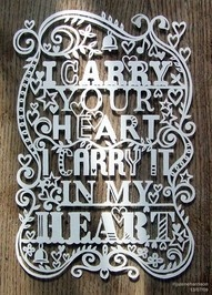 Paper.: Paper Cut, Idea, Heart, Quotes, Wedding, Papercut, Favorite Poem, Ee Cummings, Eecummings