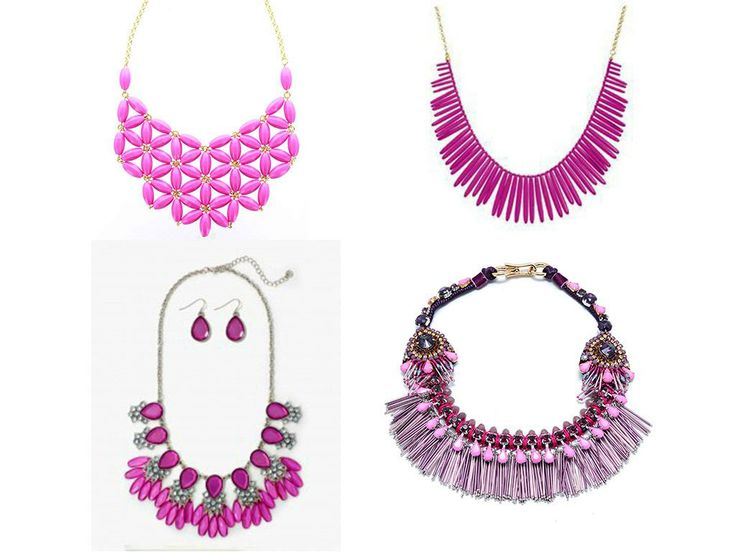 Radiant Orchid necklace