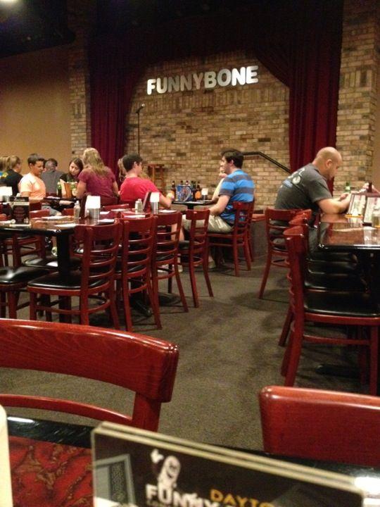 Funny Bone Comedy Club In Dayton Oh International Nightlife Entertainment Scene Pinterest And