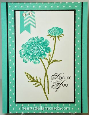 A beautiful, yet very easy to mail card!
