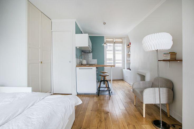 Location studio meublé Rue du Pot de Fer, Paris   Ref 12138