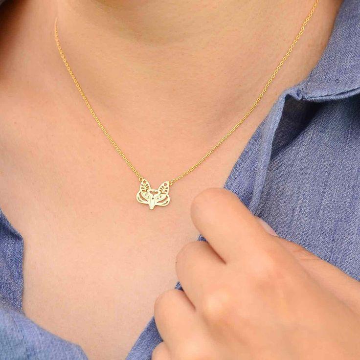 Majolie  - Renard Rusé Gold Necklace -   - 1