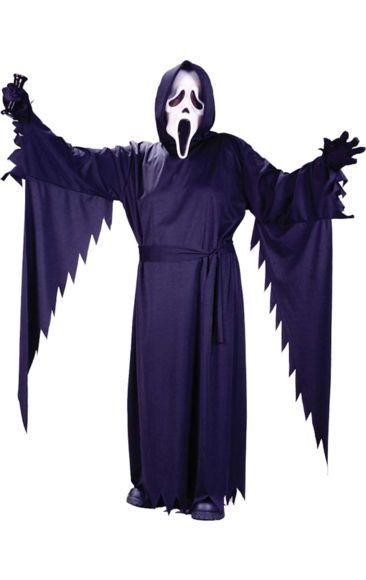 Teen Halloween Scream Ghostface Costume | Jokers Masquerade