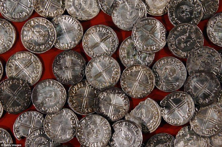 Les pièces sont affichés dans l'aperçu des Vikings, la vie et expositions Legend...