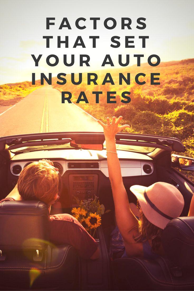 Factors that set auto insurance rates beyond your driving