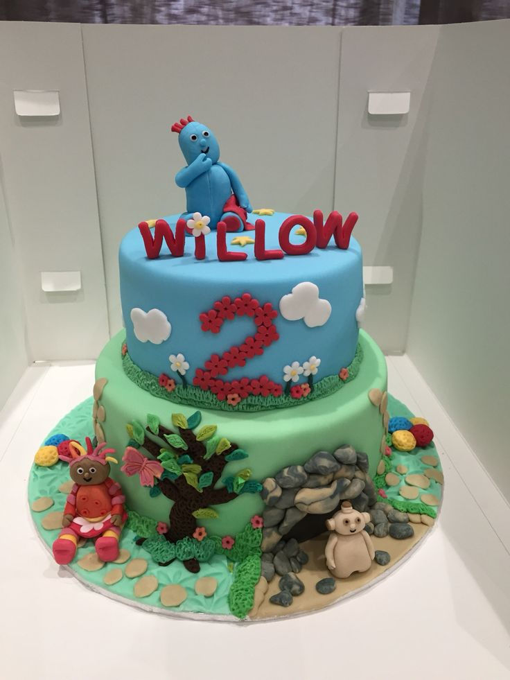 In the night garden cake Iggle piggle