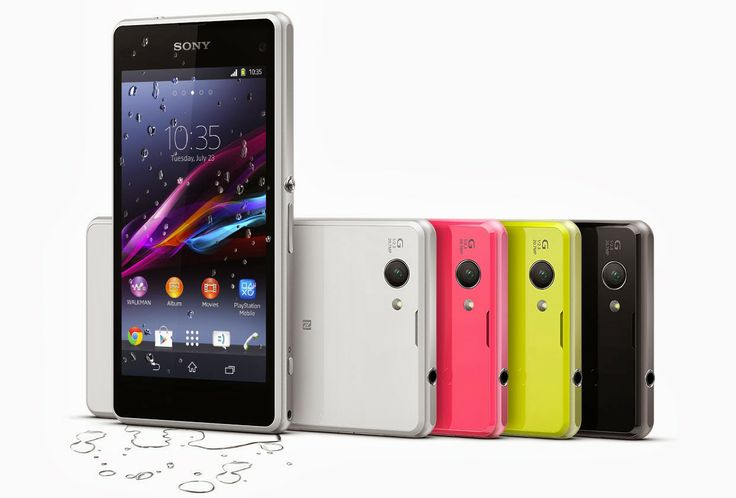 Apparently the Sony Xperia Z1 Compact has massive problems with the camera, the photo light will probably reflect the color of the back of the smartphone